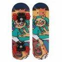 Strauss Kids Skateboard (cat Girl) ( St-2235 )