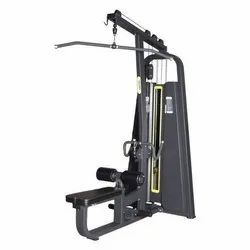 Lat Pulldown With Rowing