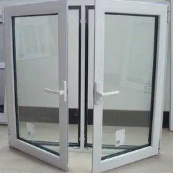 Sunrise Modern White Powder Coated Aluminum Window, For Office, Size/Dimension: 6x3