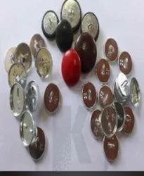 Plastic Round 40 Number Button, For Garments, Packaging Type: Box