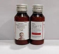Paracetamol 250mg+Chlorpheniramine 2mg+Phenylephrine 5mg Syrup