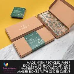 Printed Box With Slider Sleeve