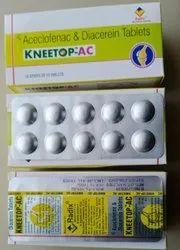 Aceclofenac and DIacerein tablets