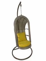 GC-152 Hanging Swing Single Seater, With Stand