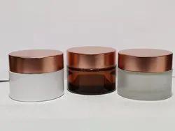 50 Gm Glass Cream Jar