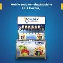 8 Flavours Soda Vending Machine