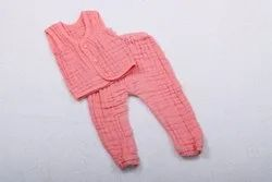 Unisex Cotton Baby Romper Suits Muslin cloth Made
