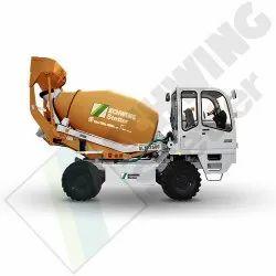 Diesel Engine Schwing Stetter Slm 2600 Self Loading Mixer, For Construction