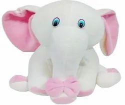 Elephant (bow) soft toys