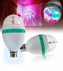 Disco Light, Gola LED Bulb, Rotating LED Blub, Diwali Christmas Decoration