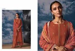 Silk Satin Ladies Plazzo Salwar Suit