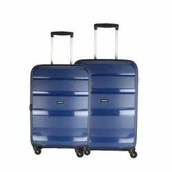 4 Plastic AMERICAN TOURISTER BRANDON BLUE 2SET, For Travelling, Size: Standard
