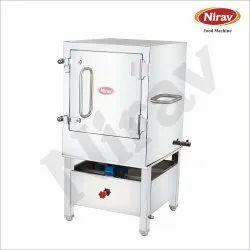 NIRAV S.S Live Steam Idly / Dhokla Steamer, 12 Tray, Size: 23