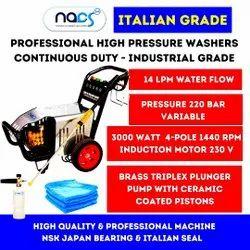 220 bar Italian Grade Continuous Duty Industrial Car Washer