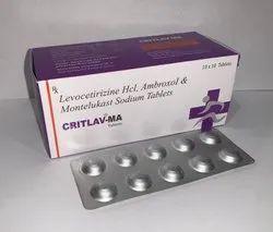 Levocetrizine  + Ambroxol  + Montelukast