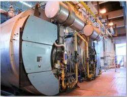 Gas Fired 1600 Kg/hr Steam Boiler