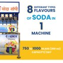 6 Plus 2 Mobile Soda Machine