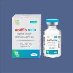 Thiopental Sodium injection 1 gm (REANTO-1000)