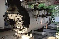 Wood Fired 1000 Kg/hr Steam Boiler