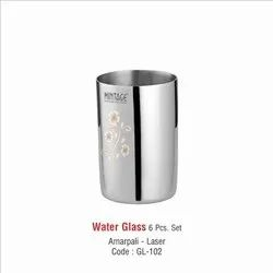Stainless Steel Water Drinking Glass-102