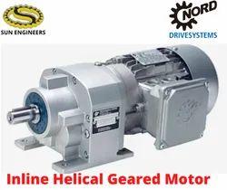 Standard Inline Helical Geared Motor