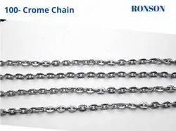 Flat Anchor Metal Chain Chrome Plated