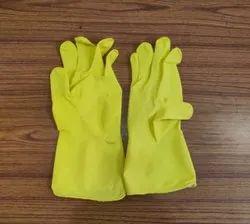 9 Rubber Hand GLoves