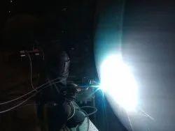 High Velocity Arc Spray Coating on Furnace Elbow