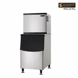 elanpro eim 351 ice machine with bin s125