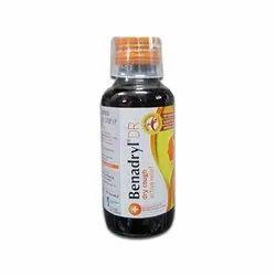 Benadryl DR Syrup, 100 ml