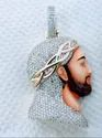 Iced Out Jesus Face Diamond Pendant With 3D Enamel Painting