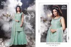 Georgette S4u Shivali Readymade Party Wear Garments