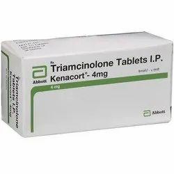 Kenacart Kenacort-4 MG ( Triamcinolone ), Packaging Size: 1 X 10, Non prescription