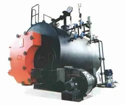 Wood & Coal Fired 2000 kg/hr Steam Boiler, IBR Approved