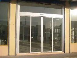 Aluminium(Frame) White Aluminium Sliding Door, For Home And Hotel, Exterior