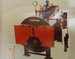 Wood Fired 1000 kg/hr Horizontal Package Boiler