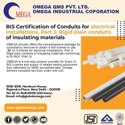 Bis Certification For Conduits For Electrical Installations For Is 9573 Part 3