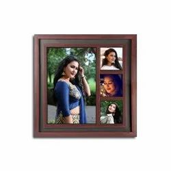 Personalised Wooden Photo Collage Frame Gifts
