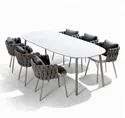 Outdoor Dining Rope Furniture
