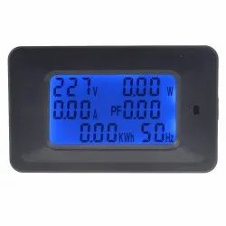 Single Digital Energy Meter with Blue Back Light Power Meter, For Industrial, Model Name/Number: QsDM20A