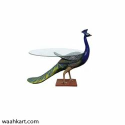 11 kg Fiber Peacock Center Table (without glass)