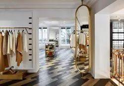 Shoes Showroom Interior Designing