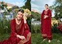 Naari Silk Party Wear Semi Stitched Suits