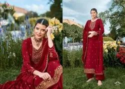 Party Wear Semi Stitched Suits