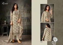 Ladies Designer Printed Pashmina Suit