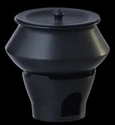 Handi Chafing Dish Black Color