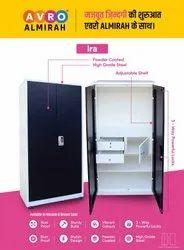 2 Doors Avro Almirah Ira - High Grade Steel., With Locker