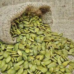 Dried Organic Green Pumpkin Seeds, Packaging Type: Loose