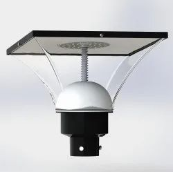 Square Solar Panel Post Top