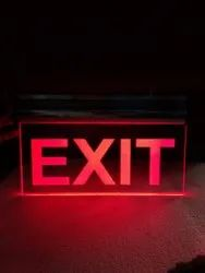 LED Sign Board, Operating Temperature: 30 ~ 40 Degree, Letter Material: Laser Printing